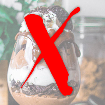 ice cream sundae NO!