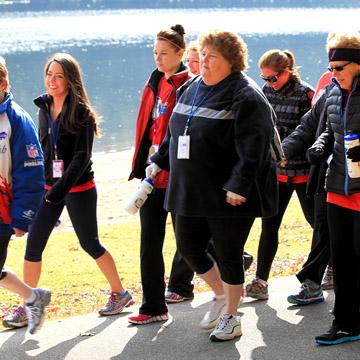 Adults at Biggest Loser Resort Niagara